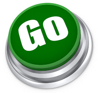 Green button with the word GO for our Push Button Import Export services